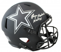 "Roger Staubach Signed Cowboys Eclipse Alternate Full-Size Authentic On-Field Speed Helmet Inscribed ""HOF 85"" (Beckett COA) at PristineAuction.com"