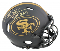 """Deion Sanders Signed 49ers Eclipse Alternate Speed Full-Size Authentic On-Field Helmet Inscribed """"HOF 2011"""" (Beckett COA) at PristineAuction.com"""