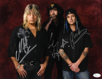 Lemmy, Mikkey Dee & Phil Campbell Signed Motorhead 11x14 Photo (JSA COA) at PristineAuction.com