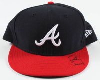 Dansby Swanson Signed Braves Fitted Hat (DA COA) at PristineAuction.com