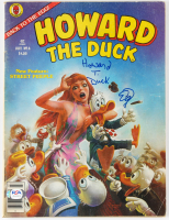 """Ed Gale Signed """"Howard the Duck"""" Marvel #6 Comic Book (PSA COA) at PristineAuction.com"""