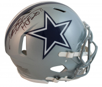 """Deion Sanders Signed Cowboys Speed Full-Size Authentic On-Field Helmet Inscribed """"HOF 2011"""" (Beckett COA) at PristineAuction.com"""