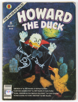 "Ed Gale Signed ""Howard the Duck"" Marvel #5 Comic Book (PSA COA) at PristineAuction.com"