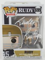 Rudy Ruettiger Signed Notre Dame Fighting Irish #699 Funko Pop! Vinyl Figure (JSA COA) at PristineAuction.com