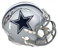Deion Sanders Signed Cowboys Speed Mini Helmet (Beckett COA) at PristineAuction.com