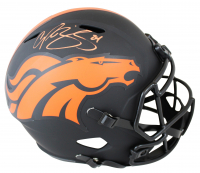 Champ Bailey Signed Broncos Full-Size Eclipse Alternate Speed Helmet (Beckett COA) at PristineAuction.com