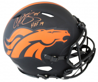 Champ Bailey Signed Broncos Full-Size Authentic On-Field Eclipse Alternate Speed Helmet (Beckett COA) at PristineAuction.com