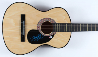 "Vince Gill Signed 40"" Acoustic Guitar (PSA COA) at PristineAuction.com"