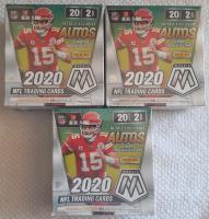 Lot of (3) 2020 Panini Mosaic NFL Mega Boxes at PristineAuction.com
