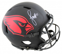 Larry Fitzgerald Signed Cardinals Full-Size Eclipse Alternate Authentic On-Field Speed Helmet (Beckett COA) at PristineAuction.com