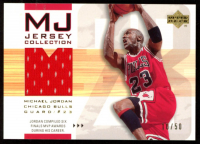 Michael Jordan 2001-02 Upper Deck MJ Jersey Collection #MJC2 RC at PristineAuction.com