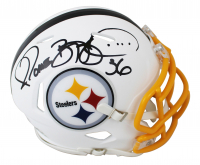 Jerome Bettis Signed Steelers Matte White Speed Mini Helmet (Beckett COA) at PristineAuction.com