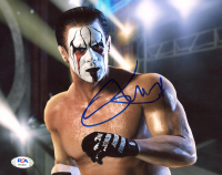 "Steve ""Sting"" Borden Signed WWE 8x10 Photo (PSA COA) at PristineAuction.com"