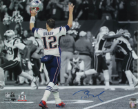 Tom Brady Signed Patriots 16x20 Photo (TriStar Hologram) at PristineAuction.com