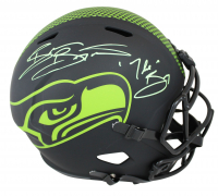"Brian Bosworth Signed Seahawks Eclipse Alternate Speed Full-Size Helmet Inscribed ""The Boz"" (Beckett COA) at PristineAuction.com"