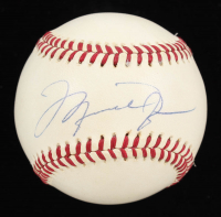 Michael Jordan Signed OML Baseball (UDA COA) at PristineAuction.com