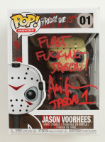 "Ari Lehman Signed ""Friday the 13th"" #01 Jason Voorhees Funko Pop! Vinyl Figure Inscribed ""First F****** Jason!"" & "" Jason 1"" (Beckett COA) at PristineAuction.com"