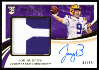 Joe Burrow  2020 Immaculate Collection Collegiate Autograph #102 at PristineAuction.com