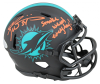 "Ricky Williams Signed Dolphins Eclipse Alternate Speed Mini Helmet Inscribed ""Smoke Weed Everyday"" (Beckett COA) at PristineAuction.com"