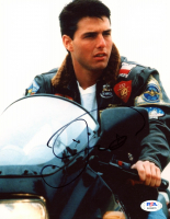 "Tom Cruise Signed ""Top Gun"" 8x10 Photo (PSA Hologram) at PristineAuction.com"