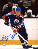 Wayne Gretzky Signed Oilers 8x10 Photo (PSA Hologram) at PristineAuction.com