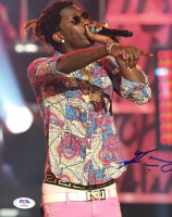 Young Thug Signed 8x10 Photo (PSA COA) at PristineAuction.com