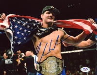 Chris Weidman Signed UFC 8x10 Photo (PSA COA) at PristineAuction.com