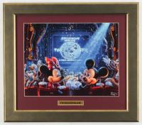 Thomas Kinkade Disney 14x16 Custom Framed Print Display at PristineAuction.com