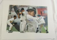 Derek Jeter Signed LE Yankees 22x29 Lithograph (JSA LOA) at PristineAuction.com