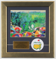 "LeRoy Neiman ""Arnold 'The King' Palmer"" 15x16 Custom Framed Print Display at PristineAuction.com"