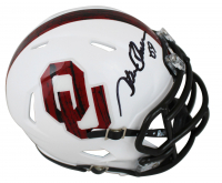 "Steve Owens Signed Oklahoma Sooners Speed Mini-Helmet Inscribed ""'69"" (Beckett COA) at PristineAuction.com"