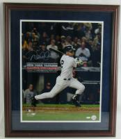 Derek Jeter Signed Yankees 17x24 Custom Framed Photo Display (Steiner COA) at PristineAuction.com
