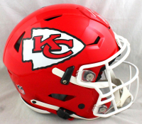 Tony Gonzalez Signed Chiefs Full-Size Authentic On-Field SpeedFlex Helmet (Beckett COA) at PristineAuction.com