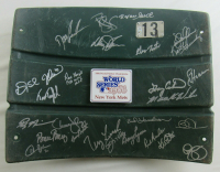 1986 World Series Shea Stadium Seat Team-Signed by (27) with Gary Carter, Stan Jefferson, Davey Johnson, Ray Knight, Dwight Gooden (PSA COA) at PristineAuction.com