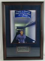 Derek Jeter Signed Yankees 17x24 Custom Framed Photo Display (JSA COA) at PristineAuction.com