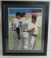 Mickey Mantle & Whitey Ford Signed Yankees 21x24 Custom Framed Photo Display (JSA LOA) at PristineAuction.com