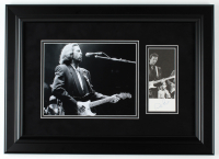 Eric Clapton Signed 15.5x21.5 Custom Framed Photo Display (JSA LOA) at PristineAuction.com