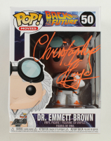 """Christopher Lloyd Signed """"Back To The Future"""" #50 Dr. Emmett Brown Funko Pop Figure  (Beckett Hologram) at PristineAuction.com"""