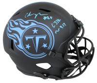 "Chris Johnson Signed Titans Eclipse Alternate Speed Full-Size Helmet Inscribed ""CJ2K"" & ""Mr. 4.24"" (Beckett COA) at PristineAuction.com"