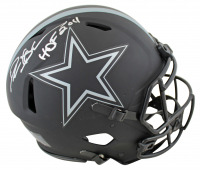 "Deion Sanders Signed Cowboys Eclipse Alternate Speed Full-Size Authentic On-Field Helmet Inscribed ""HOF 2011"" (Beckett COA) at PristineAuction.com"