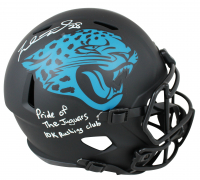 "Fred Taylor Signed Jaguars Eclipse Alternate Speed Full-Size Helmet Inscribed ""Pride of The Jaguars"" & ""10k Rushing Club"" (Beckett COA) at PristineAuction.com"