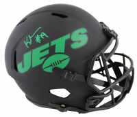 Keyshawn Johnson Signed Jets Eclipse Alternate Speed Full-Size Helmet (JSA COA) at PristineAuction.com