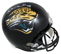Fred Taylor Signed Jaguars Full-Size Helmet (Beckett COA) at PristineAuction.com