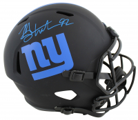 Michael Strahan Signed Giants Eclipse Alternate Speed Full-Size Helmet (Beckett COA) at PristineAuction.com