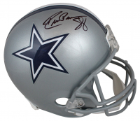 Drew Pearson Signed Cowboys Full-Size Helmet  (Beckett COA) at PristineAuction.com