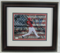 Aaron Judge Signed Team USA 15x17 Custom Framed Photo Display (JSA COA) at PristineAuction.com