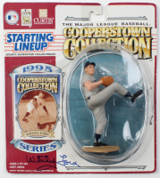 Whitey Ford Signed 1995 Starting Lineup Figure With Sealed Cooperstown Collection Card (PSA COA) at PristineAuction.com