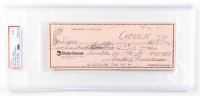 Ted Williams Signed Hand-Written 1981 Personal Bank Check (PSA Encapsulated) at PristineAuction.com