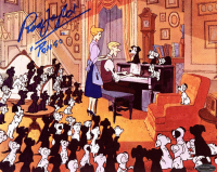 "Rod Taylor Signed ""One Hundred and One Dalmatians"" 8x10 Photo Inscribed ""Pongo"" (OC Dugout COA) at PristineAuction.com"