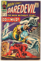 "Vintage 1966 ""Daredevil"" Vol. 1 Issue #208 Marvel Comic Book at PristineAuction.com"